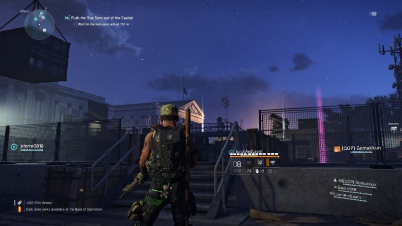 the division 2 - capitol building stronghold mission walkthrough