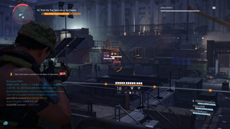 the division 2 - capitol building stronghold quest