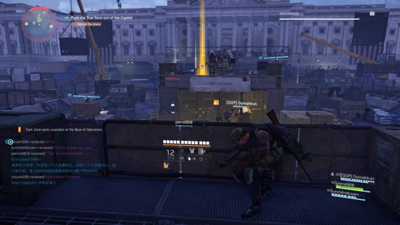 the division 2 - capitol building stronghold walkthrough