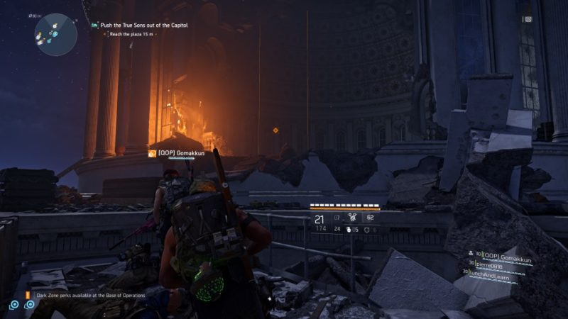 the division 2 - capitol building tips and guide