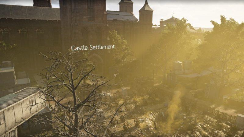 the division 2 - castle settlement walkthrough
