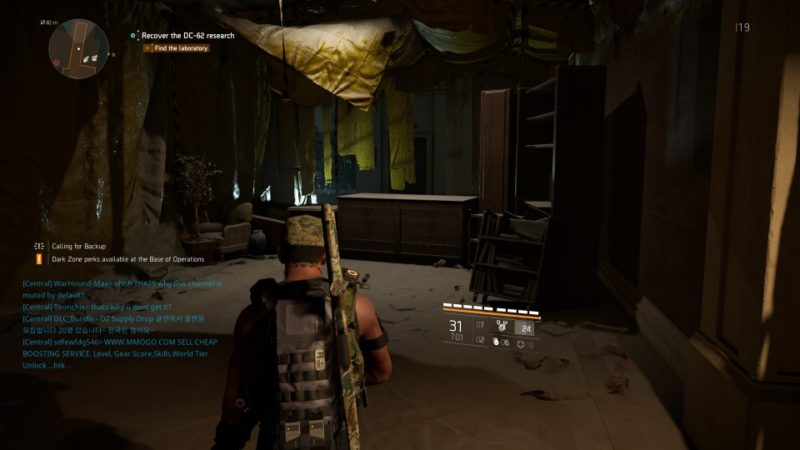 the division 2 - dc-62 lab quarantine guide tips