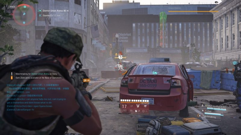 the division 2 - district union area guide