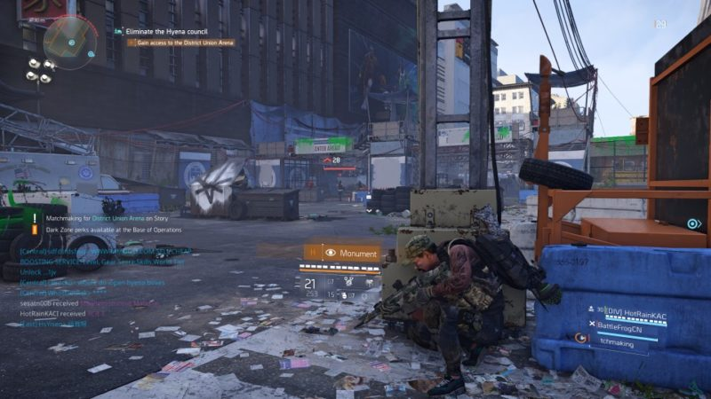 the division 2 - district union area guide and tips