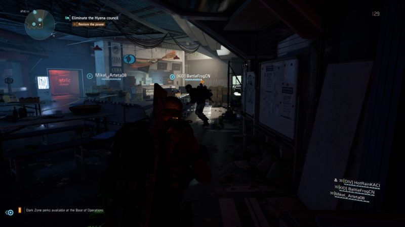 the division 2 - district union area mission tips