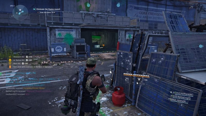 the division 2 - district union area quest