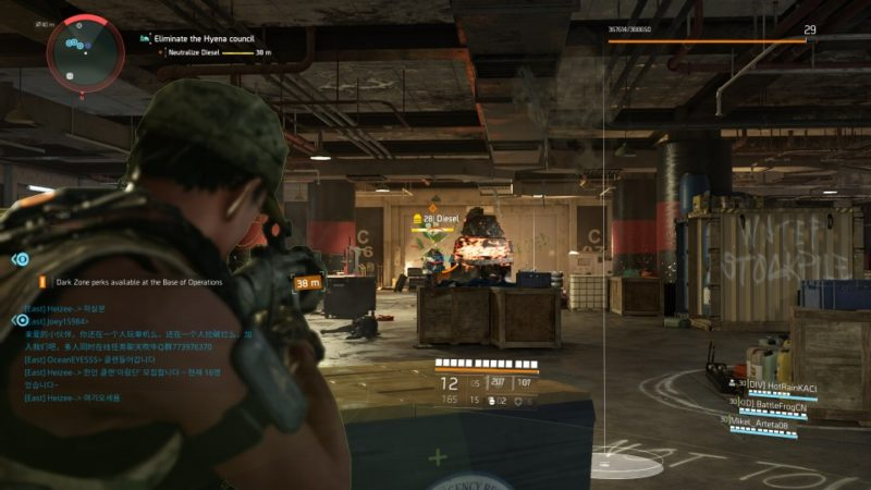 the division 2 - district union area stronghold