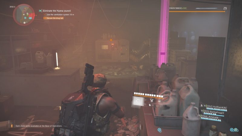the division 2 - district union area stronghold QUEST GUIDE