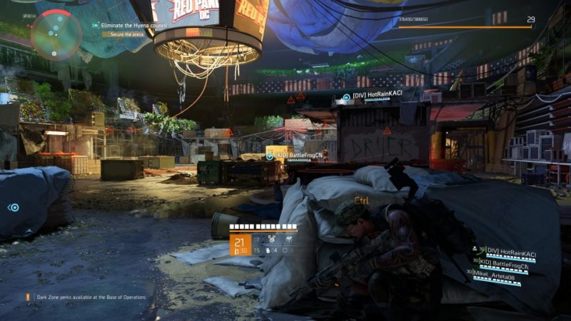 the division 2 - district union area stronghold mission wiki