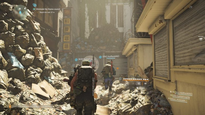 the division 2 - district union area stronghold tips