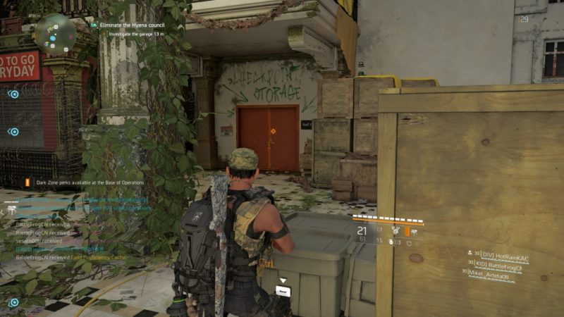 the division 2 - district union area tips