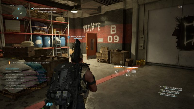 the division 2 - district union area tips and guide