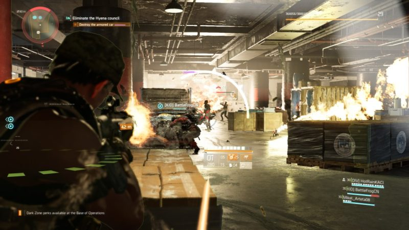 the division 2 - district union area tips and objective