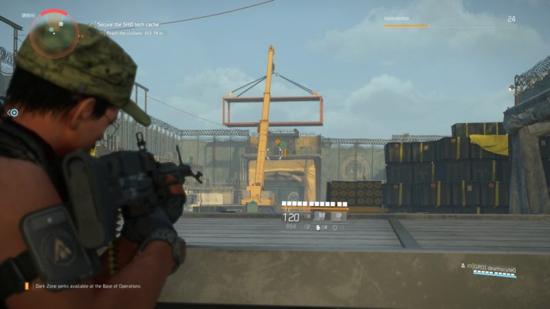 the division 2 - drone crash site mission