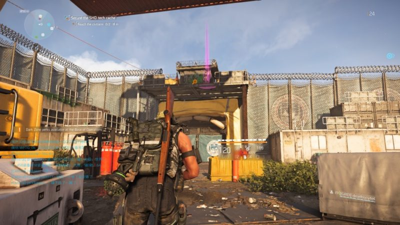 the division 2 - drone crash site mission guide