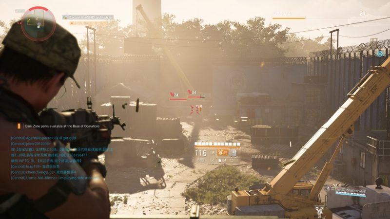 the division 2 - drone crash site walkthrough