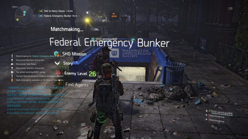 Federal Emergency Bunker - The Division 2 Walkthrough