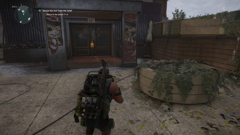 the division 2 - grand washington hotel get out of the place