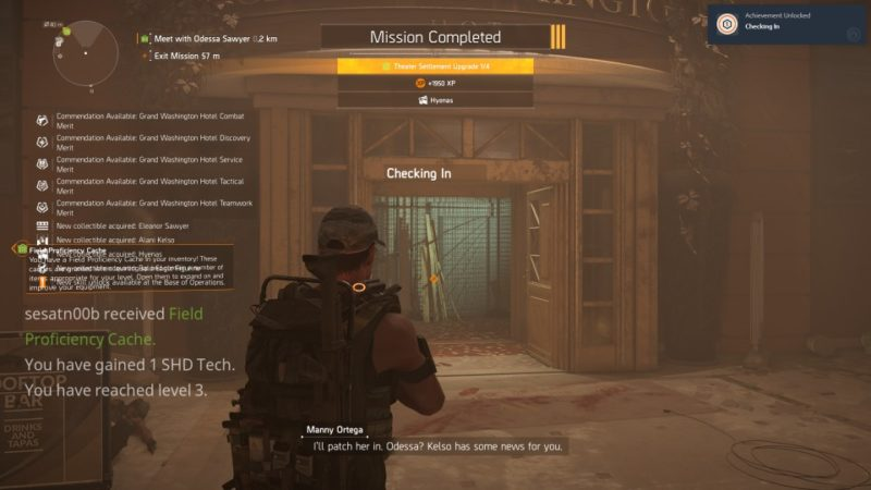 the division 2 - grand washington hotel mission complete