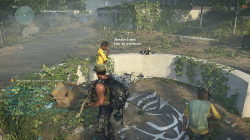 the division 2 - greenhouse community guide and walkthrough