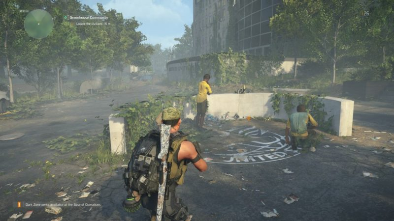 the division 2 - greenhouse community guidre