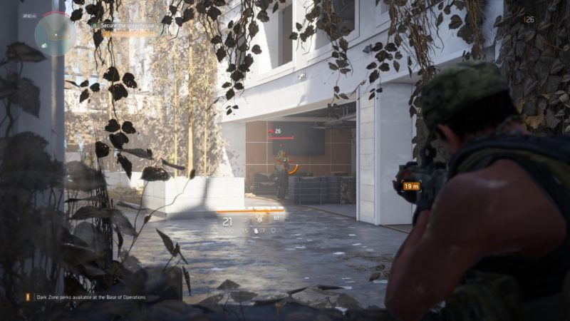the division 2 - greaenhouse community mission guide
