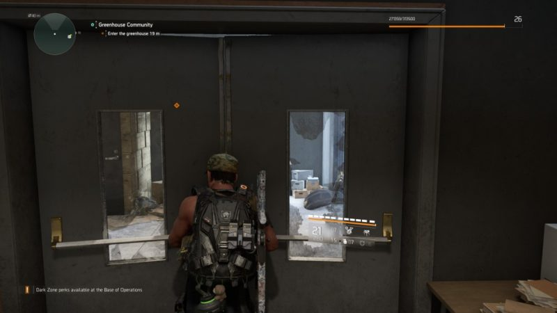 the division 2 - greenhouse community quest
