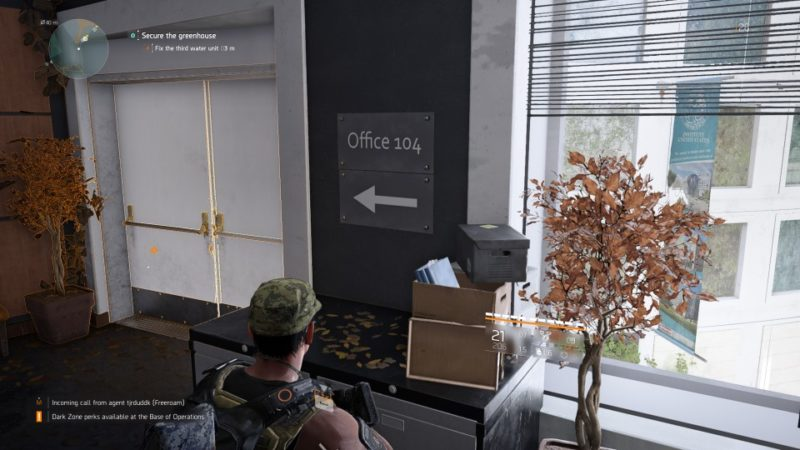 the division 2 - greenhouse community walkthrough guide