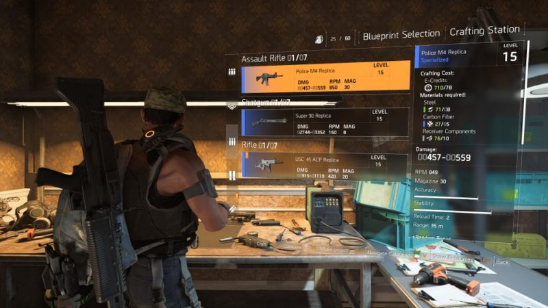 How To Get Weapon Blueprints - The Division 2 Wiki