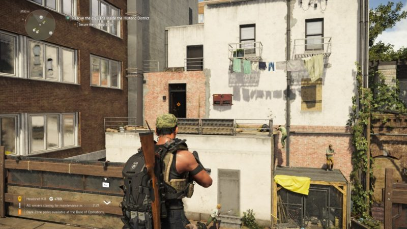 the division 2 - historic district attack mission objectives