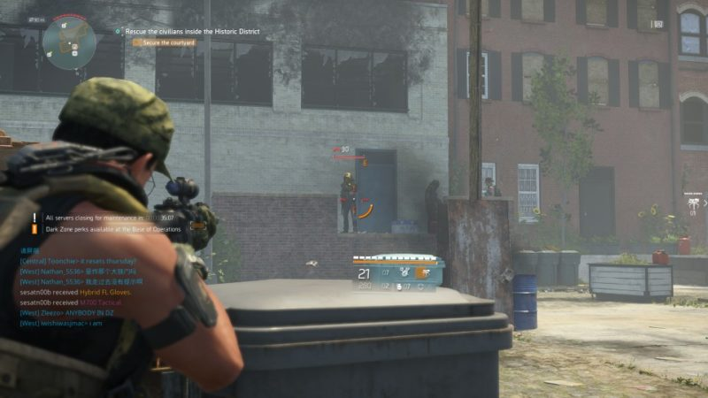 the division 2 - historic district attack quest