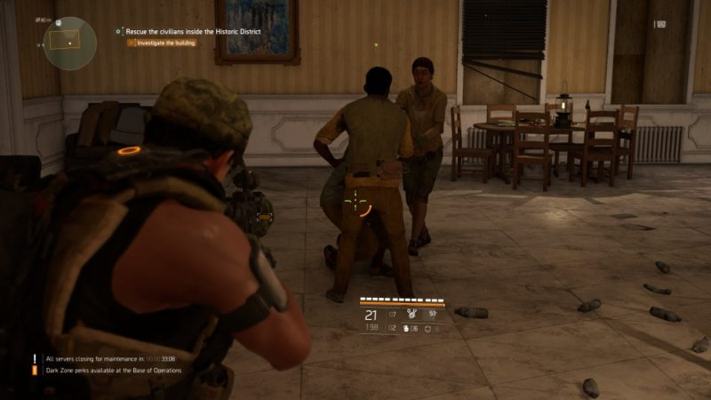 the division 2 - historic district attack quest walkthrough