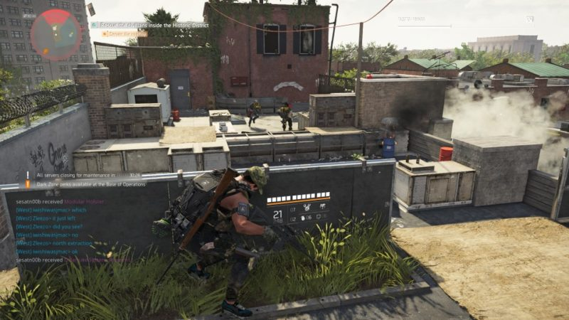 the division 2 - historic district attack walkthrough