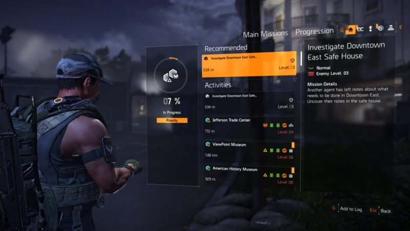 the division 2 - investigate downtown east safe house