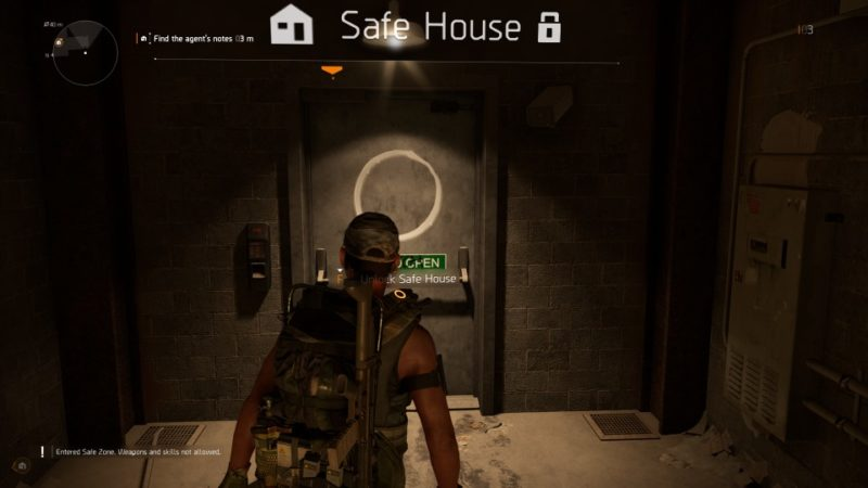 the division 2 - investigate downtown east safe house mission