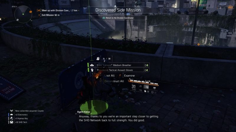 the division 2 - jefferson trade center how to defeat coyote