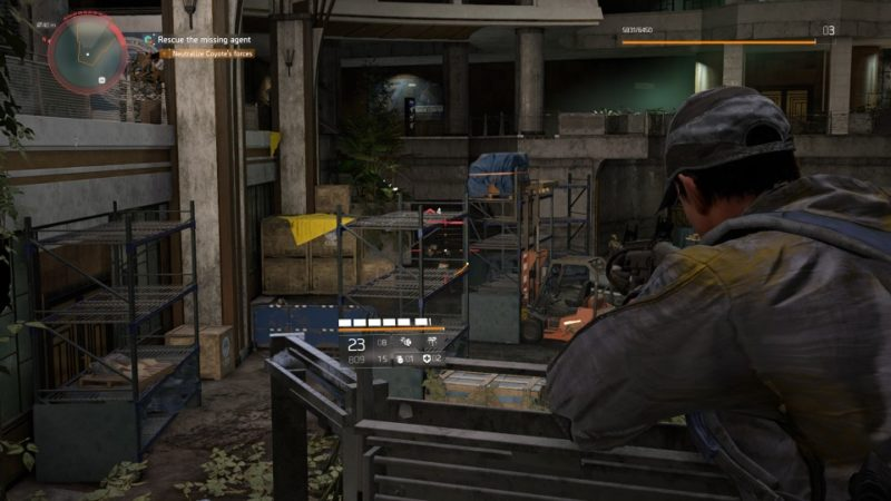 the division 2 - jefferson trade center neutralize coyote