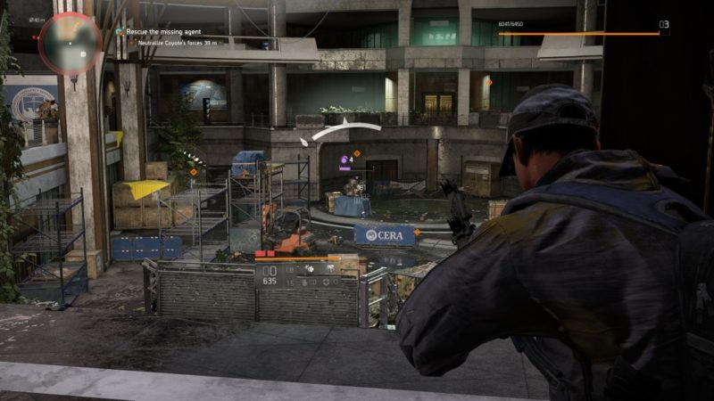 the division 2 - jefferson trade center neutralize coyote's forces