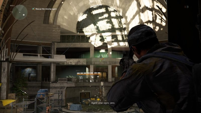 the division 2 - jefferson trade center rescue the missing agent