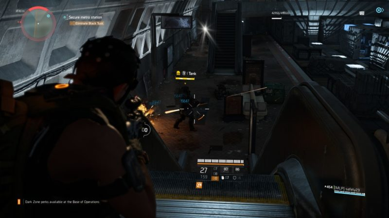 the division 2 - judiciary square metro station mission