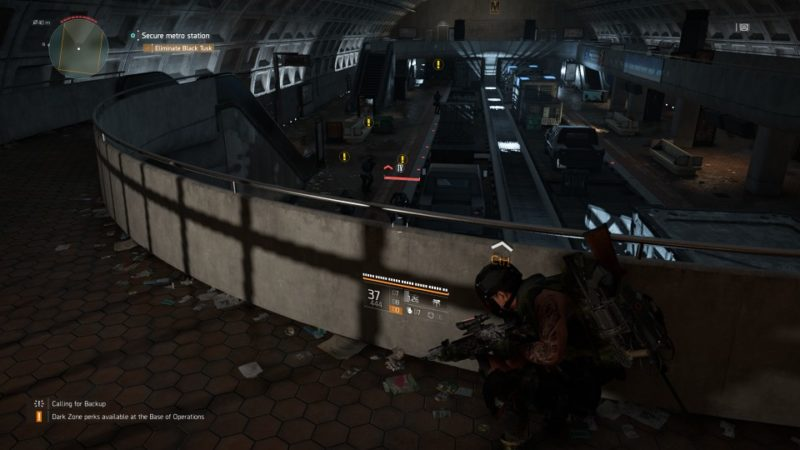 the division 2 - judiciary square metro station quest walkthrough