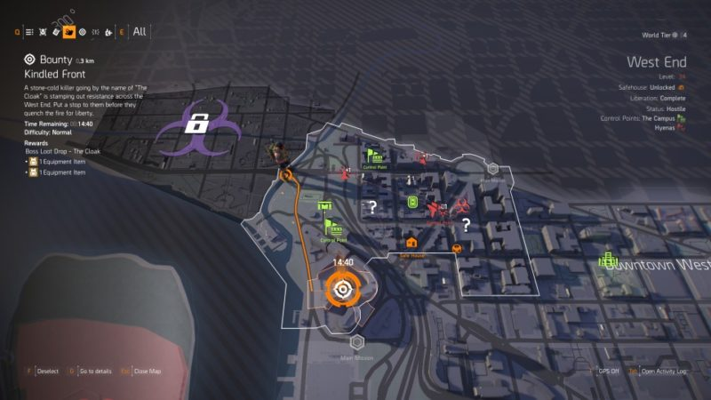 Kindled Front Bounty - The Division 2 Walkthrough - Ordinary