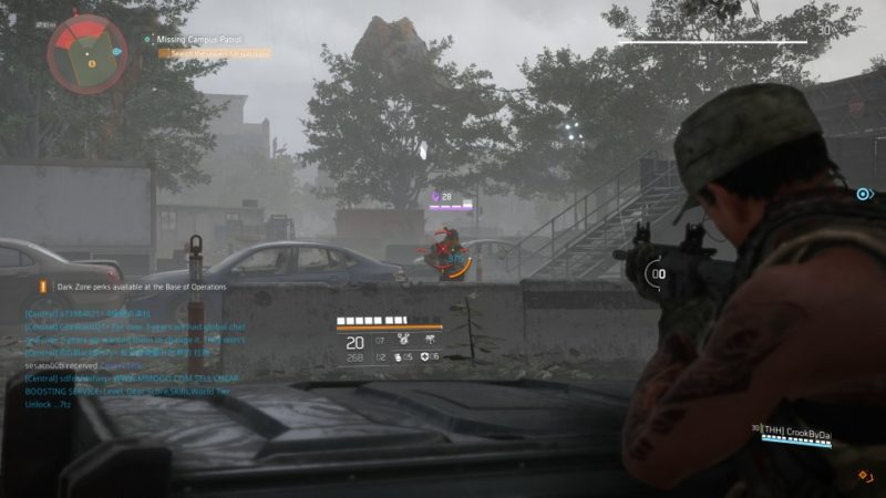 the division 2 - missing campus patrol guide
