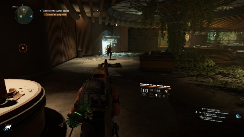 the division 2 - museum water source mission