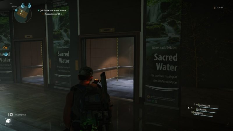 the division 2 - museum water source quest guide