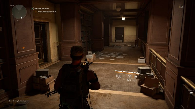 the division 2 - national archives quest walkthrough