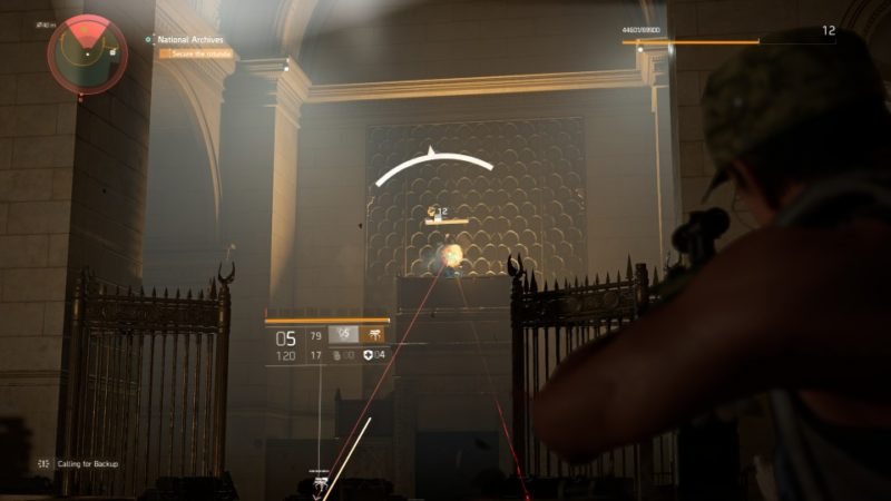 the division 2 - national archives tips