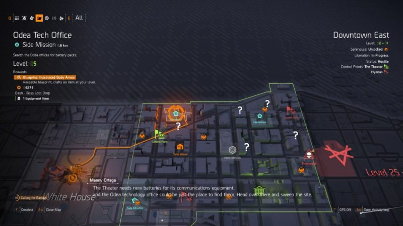 the division 2 - odea tech office