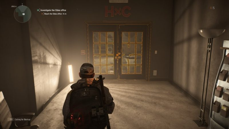 the division 2 - odea tech office mission