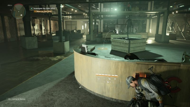 the division 2 - odea tech office mission guide